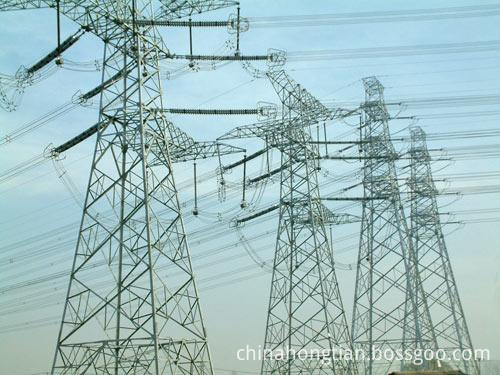 transmission steel tower