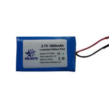 1000mAh 3.7V Lithium Polymer Battery Pack Lp773048