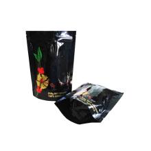 Bolsa de frijoles de café con válvula de desgasificación / bolsa de café de aluminio