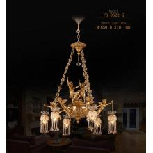 Classical Brass Style Pendant Chandelier (FD-0622-6)