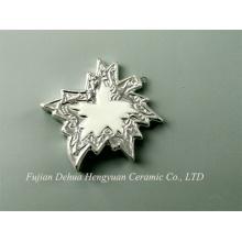 Покрытие керамической формы листа вися украшение