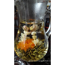 Rose Marigold Flower Blooming Jasmine Tea