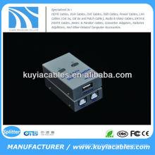 Interruptor de intercambio automático USB 2.0 Interruptor USB 2 PC a 1 impresora / escáner