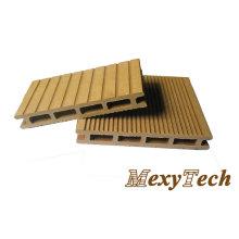 China Fabrik Enviromental WPC-Decking-Boden-Fliesen-hölzerner Plastik Compostie