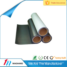 Plain flexible magnetic receptive sheet
