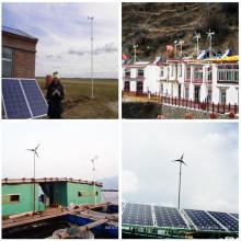 Système de turbine éolienne pour zone éloignée