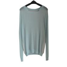 Primavera e Outono Filamentos Thin Pullover Knitted Sweater