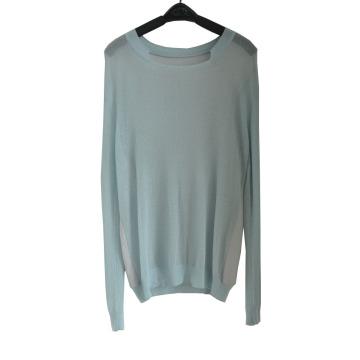 Sweat tricoté à motifs minces et à l'automne