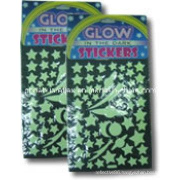 Glow in Dark Sticker/Decal