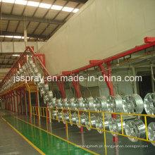 Linha de revestimento de pó de alumínio