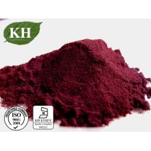Astaxanthine naturelle pure 1% -10%, poudre d'alga de Haematococcus Pluvialis, poudre d'astaxanthine soluble dans l'eau 2%