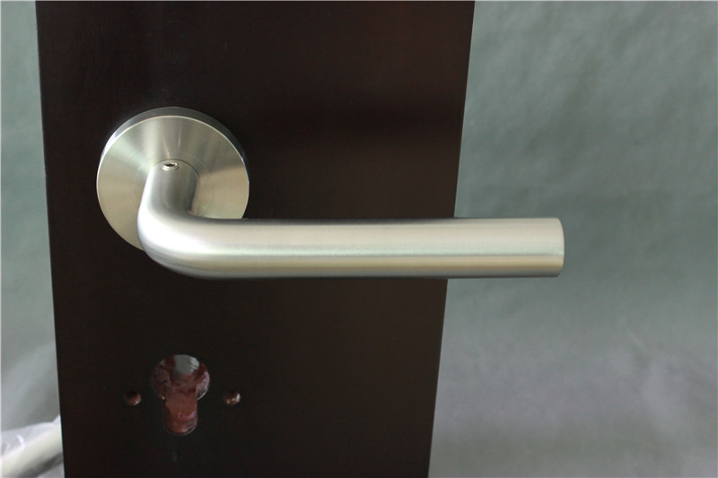 European Solid Lever Handle
