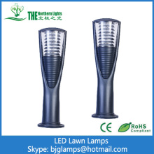 LED Lawn lighting of landscape walkway lights