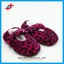 Comfortable Cheap Custom Kids Winter Slippers With Rubber Sole