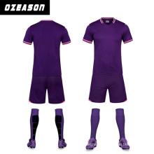 Wholesale Men′s High Quality Soccer Uniform Football Shirt