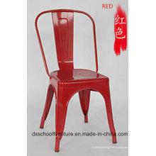 Chaise de fer de loisirs de style rétro pour Coffee Shop
