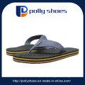 Sapato de praia de couro plano chinelo sapato Flip Flop