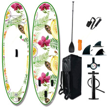 popular  style 11'x33''x6''soft top surfboard inflatable paddle board sup stand up paddle board with all accessaries