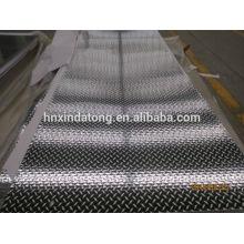 placa de piso de alumínio de cinco barras 3003 5052 5754