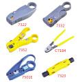 Легкий вес коаксиальный кабель съемник 2 лезвия аппаратные сетевые инструменты