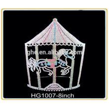 Fábrica de fabricação profissional diretamente anel da coroa da rainha