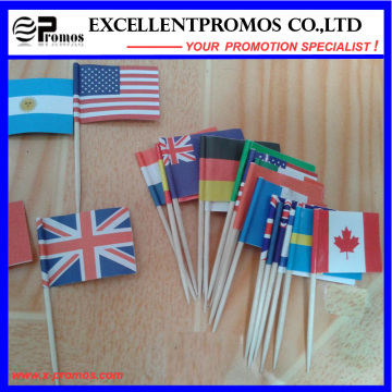 High Quality Polyester Advertising Cheap Custom Flag (EP-F58408)