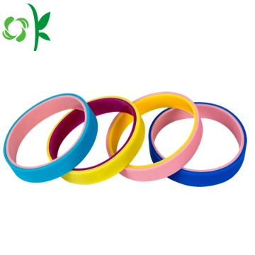 Elegant 2 Layer Student Sport Silicone Straps Gelang