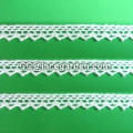 Cotton Crochet Lace using in Scarf Decorated