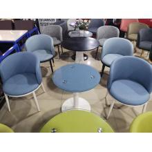 Muebles para el hogar Mesa redonda de plástico para exteriores Mesa de jardín