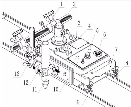 Plasma And Flame Cutting Machine