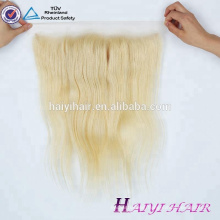 High Quality Mink Brazilian Human Virgin Hair Ash Blond Color 13*4 Swiss Lace Frontal
