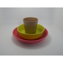 (BC-CS1062) Eco Bamboo Fibre Tableware Combination Series for Kids