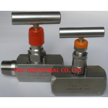 Stainless Steel Needle Valve with External Thread End