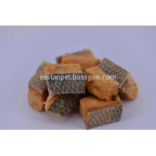 Freeze-Dried Salmon with Spinach Cube for Dog Chews