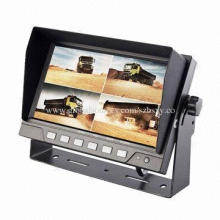 7-inch Quad Digital Monitor for Farm Tractor, 20 to 80% RH Operating Humidity