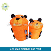 Standing Household animal laundry basket