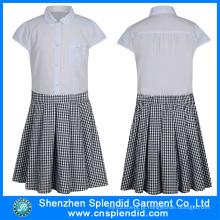 China Wholesale Vestuário Moda Escola Uniform Design Saia