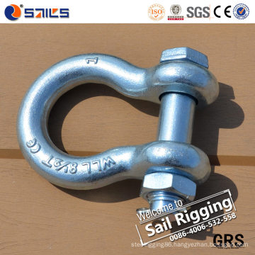 Us Type Forged Bow Shackle G2130 of Rigging Hardware
