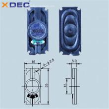 Haut-parleur portable 3516 8ohm 1w pour machine d'apprentissage