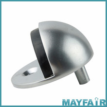Contemporary Useful Chrome Plated Door Stop