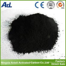 matériau adsorbant charbon actif en poudre pour la décoloration de l'alcool