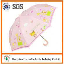 Professionnels Auto Open mignon impression professionnel enfants parapluies