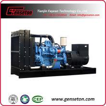 Grupo electrógeno Diesel de potencia Mtu con motor de 4 tiempos