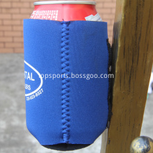 Foldable neoprene magnetic can coolers insulator