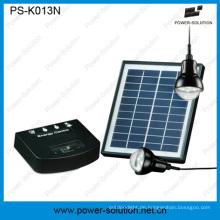 Tragbare 4W Mini Solaranlage für den ländlichen Raum Beleuchtung