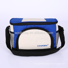 Reusable Custom Wholesale Collapsible Polyester Insulated Lunch Box Tote Cooler Bag For Picnic, Promotion, Supermarket