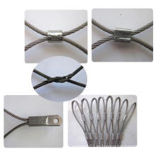 Malla de cuerda de acero inoxidable