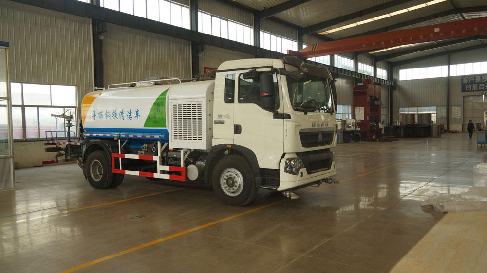 Water trucks for dust