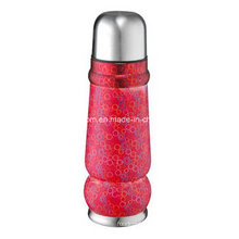 500ml Double Wall Red Thermal Bottle