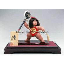 Alta qualidade humana figura de ação de plástico ICTI fábrica crianças brinquedo